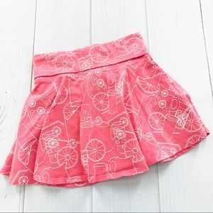 Lands End Lemonade Skirt